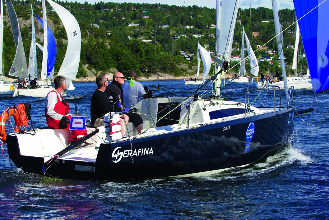 Saphire 27: Det tyske bladet Yacht mener Spahire 27 har sin styrke i lite vind.