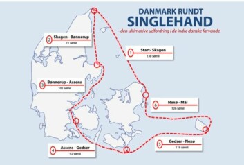LANGT: Solo-regattaen vil ta over en uke, inkludert fem stopp på åtte timer.