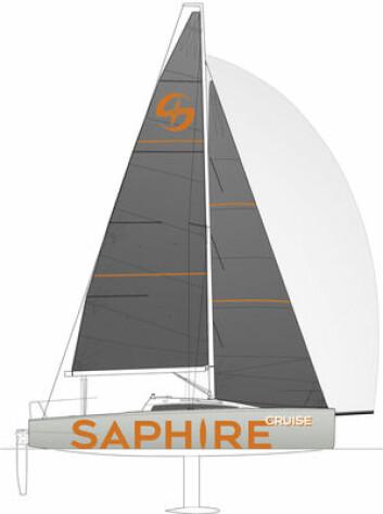 SNILLERE: Med et tradisjonelt storseil og tyngre kjøl, blir båten enklere i mer vind.