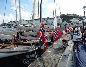 Trebåtfestivalen i Risør igang