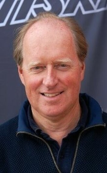 MILJØ: Henrik Torgersens har regnet ut at han slipper ut like mye klimagass fra sin seilbåt som en gjennomsnittlig dieselbil i året.