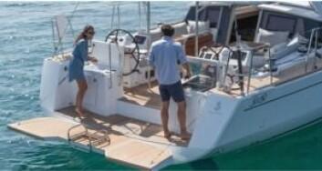 MAT: Utendørs bysse har det vært på motorbåtene i årevis. Nå er det også kommet til seilbåtene.