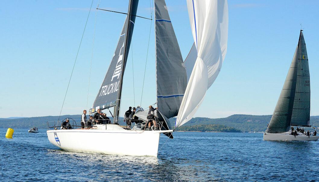 RASK: «Wolfpack» har gjennomgått en refit og er klar igjen på regattabanen til helgen.