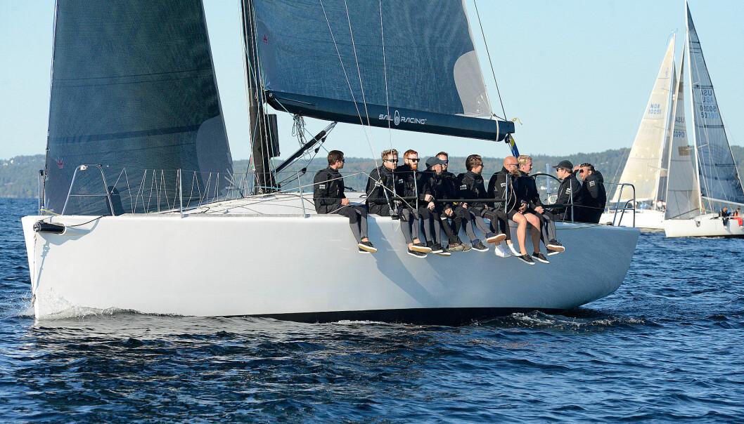 EM PÅ HANKØ: Landmark 43 er en båttype som har gjort det godt i ORC-mesterskap tidligere og slike båter blir trolig å se på Hankø i 2022 også.