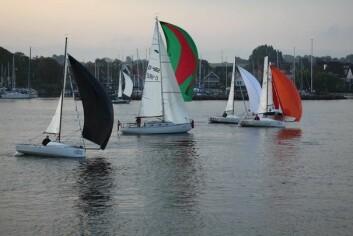 MIKS: Silverrudder samler alle typer seilbåter, lette, tunge, gamle og moderne.