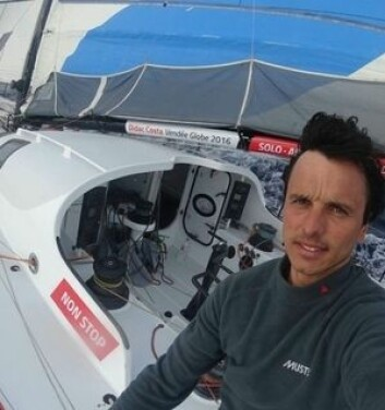 SEILER: Didac Costa skal samle inn data mens han seiler Vendee Globe.