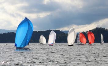 SØRVEST: Javacup samler båter fra Kristiansand til Bergen. 17 båter deltok totalt i 2016.