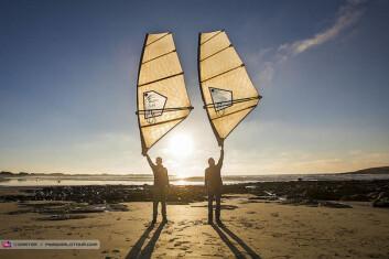 3DI: NorthSails utvikler støpte windsurfingseil. De blir lettere, holder formen bedre, blir mer holdbare, men også langt dyrere.
