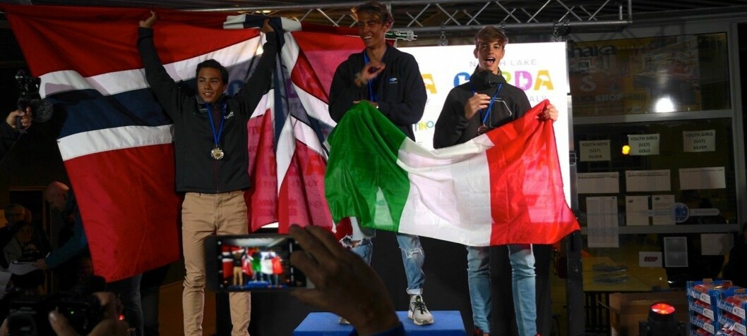 VM sølv på Gardasjøen til Jakob Ruud