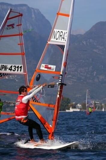 PLUS: Jakob Ruud deltok i pluss-klassen uten aldersbegrensning.