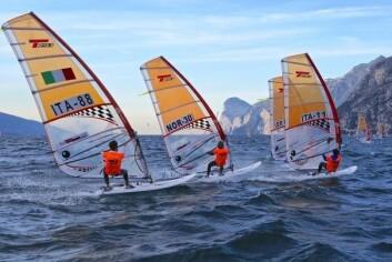 VIND: Gardasjøen byr på gode vindforhold.