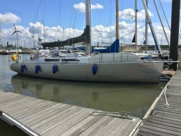 MODERNE: Noe er en BM39E, og fremstod som en drømmebåt for langturseiling.