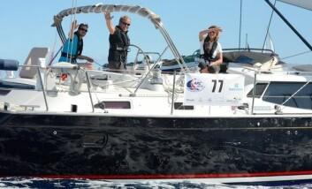 RASKEST: De siste døgnene har Shekina, Discovery 55 med Geir Magne Årvik seilt fort.