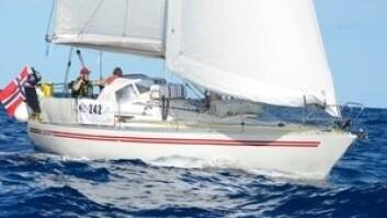 MINST: Det går tregt for ARCs minste båt, «Mosaikk»