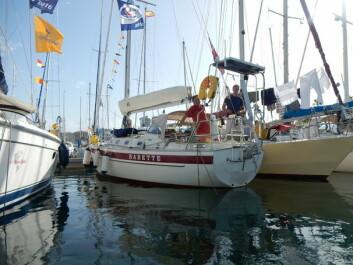 LAS PALMAS: «Babette» i Las Palmas, dagen før avreise til Karibia.