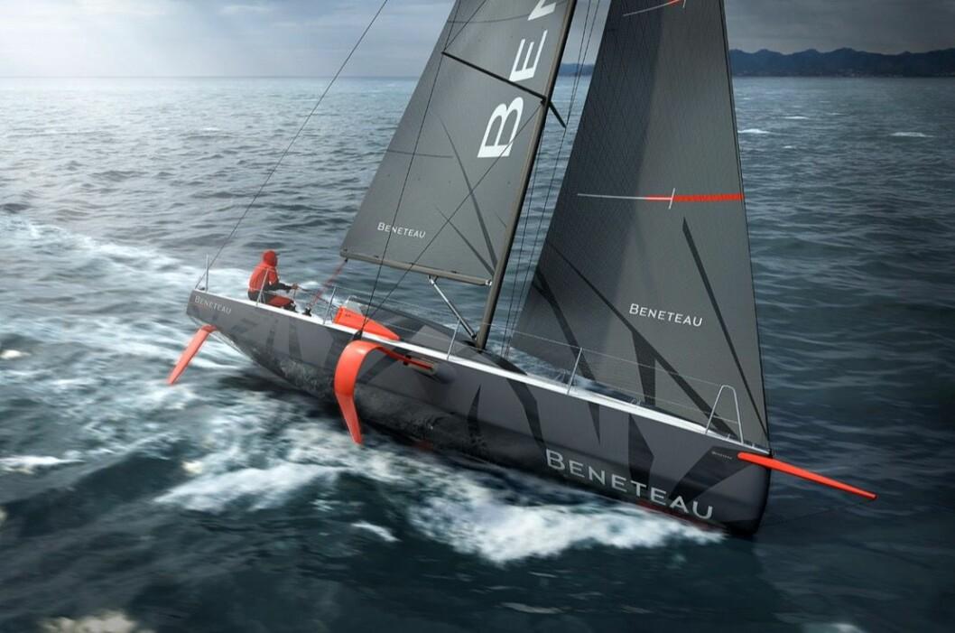 EKSTREM: Figaro 3 vil bli en miniversjon av IMOCA60-båtene som entype-båt.
