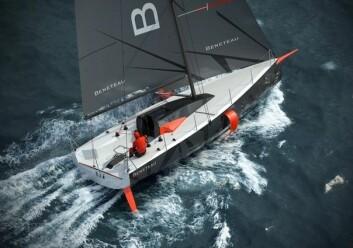 SOLO: Figaro-klassen brukes til shorthandseiling. Båten er designet for å bli håndtert av en person.