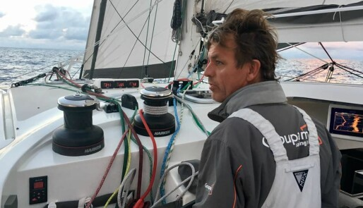 Knut Frostad først i mål på St. Lucia