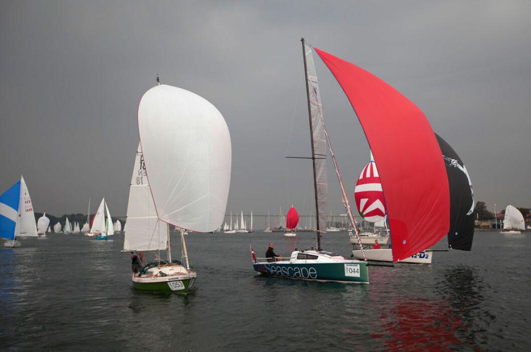 TETT: Silverrudder ble solgt ut på 24 timer. Tyske bladet Yacht har vært med på å gjøre regattaen svært populær i Tyskland.