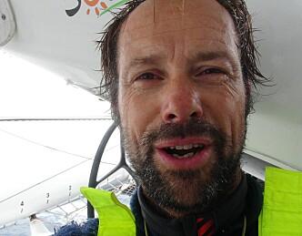 Rundt Kapp Horn, fire døgn foran skjemaet