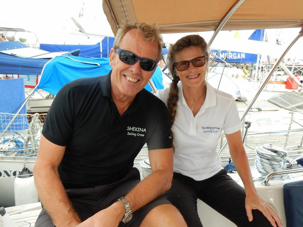 ARC: Geir Magne og Tonje Lise Årvik er på sin andre tur over Atlanteren med samme båt.