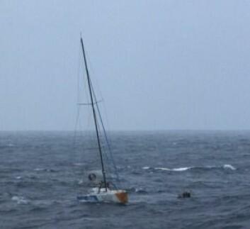 REDDET: Kito de Pavant ble reddet ut av en synkende båt denne uken.