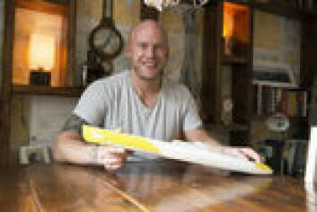 LIDENSKAP: Seiling er, og har vært, en lidenskap for Erik Martin Aanderaa helt siden han var barn. På ungdomsskolen lagde han en modell av Whitbread-båten «Innovation Kværner» og håpet at han skulle få ...