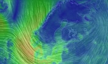 URD: Urd har kastet seg over Sør-Norge, Vestlandet og Skagerrak.