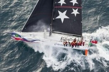 VANT: «Giacomo» ble best på korrigert tid. Båten var andre båt over linja, bare to timer bak vinneren.