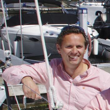 ERFAREN: Ørjan Wollertsen, daglig leder hos Nautic Norway har solgt seilbåter siden 2007.