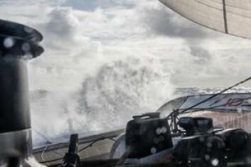 FART: «IDEC» har sin styrke under røffe forhold. Båten er ferdig revet.
