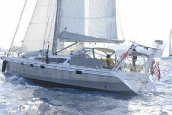 SOLID: «Njord» er en Ovni 445 bygget i aluminium. Båter er bygget for å tåle det meste, noe som gir økt trygghet.