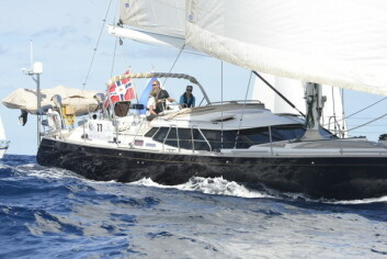 LANGTUR: Det deltar to Discovery 55 fra Norge under ARC.