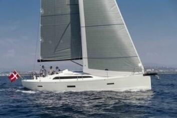 FAVORITT: X4 er den eneste nominerte båten fra Norden.