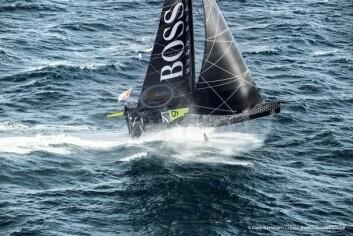 FOIL:Thomson mangler foil på styrbord side. Det kan stoppe hans store avansement.