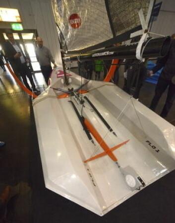 VINGER: Skroget er bygget ut i cockpiten slik at kroppsvekten øker stabiliteten.