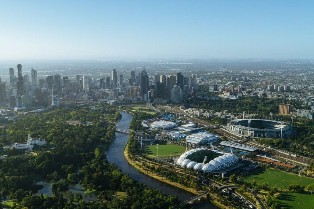 Melbourne, capital of Victoria, Australia