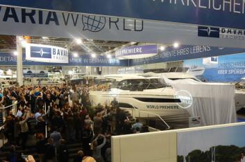 BOOT: Bavaria har den største utstillingen på Boot i Dussledorf. Der har det blitt avduket flere nyheter.