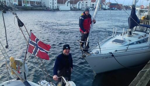 Heftig tur med dramatikk over Nordsjøen