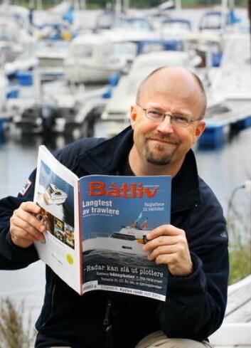 ARRANGØR: Micke Westin har lang erfaring, og har også levert stoff til Norsk Maritimt Forlags blader.