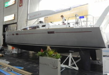 PREMIERE: Allures 45.9 er en av flere båter med verdenspremiere på messen i Dusseldorf.