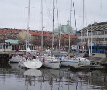 MÅL: Vinterseilasen ender i Strømstad