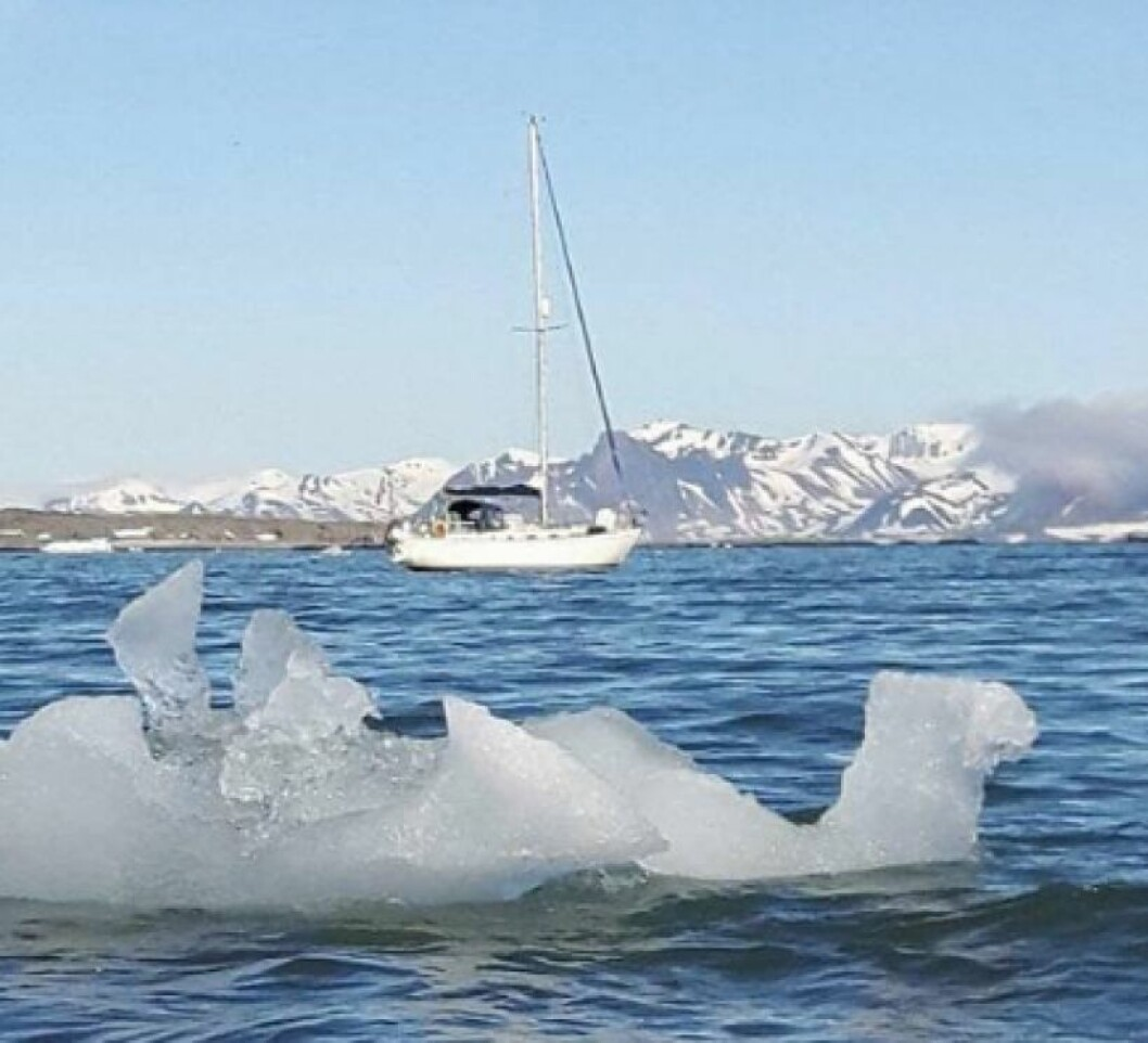 IS: Mange turseilere ville høre om seiling på Svalbard.