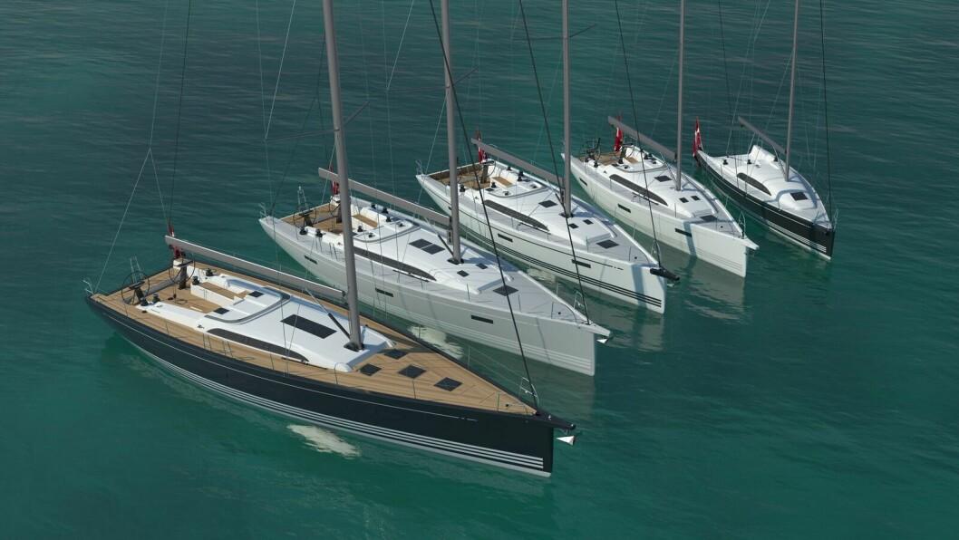 FACELIFT: Xp-serien til X-Yachts blir nå oppgardert.