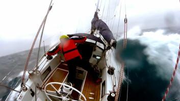 SELVSTYRER: Aanderaa fryktet at autopiloten ikke skulle klare de tøffe forholdene, men den styrte bedre en båteieren.