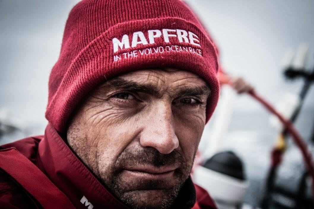June 21,2015. Leg 9 to Gothenburg onboard MAPFRE. Day 03. Xabi Fernandez