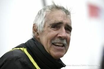 FERDIG: Eick Wilson er racets eldste deltager.