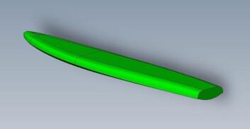 RASKERE: Det nye D2-brettet fra Davidson tilpasses dagens moderne rigg, og vil bli raskere på slør.