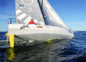 NY: «Solo2» kom først over mållinjen under HH Skagen Race, til tross for bidevind mye av veien. Båten er lagd for slør på åpent hav.