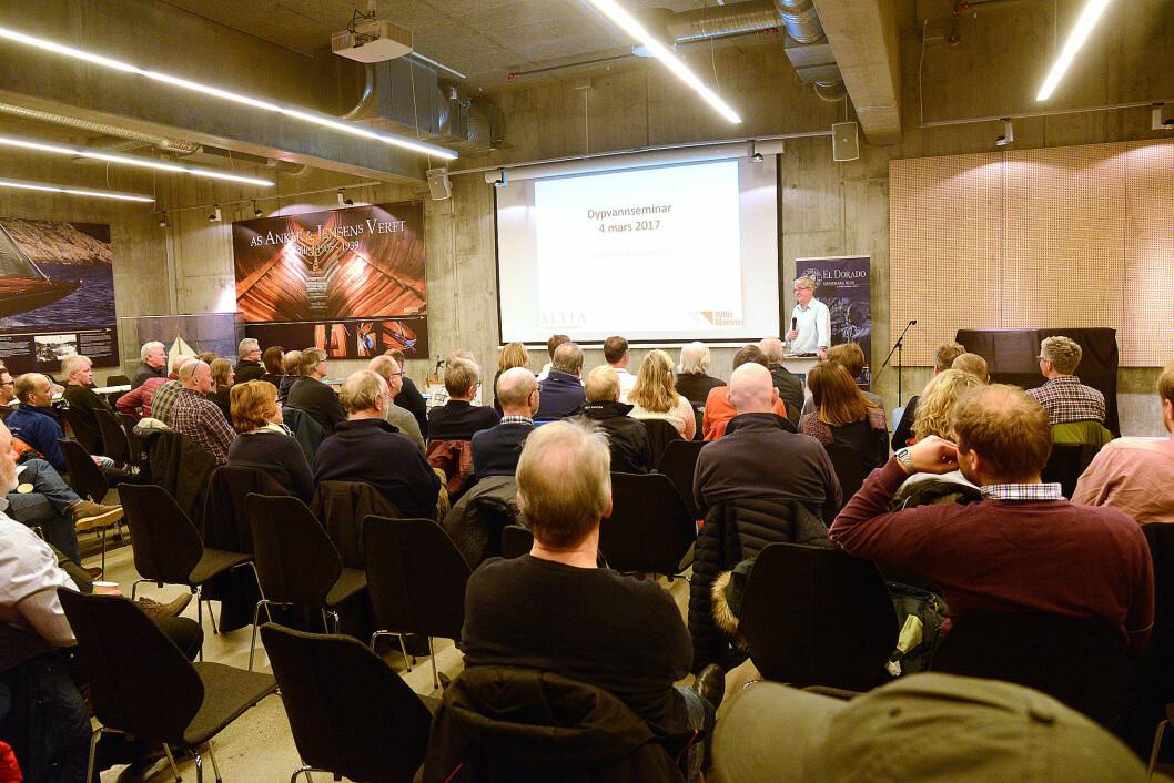 SEMINAR: Asker Seilforening holdt sitt andre seminar for langturseilete i begynnelsen av mars.